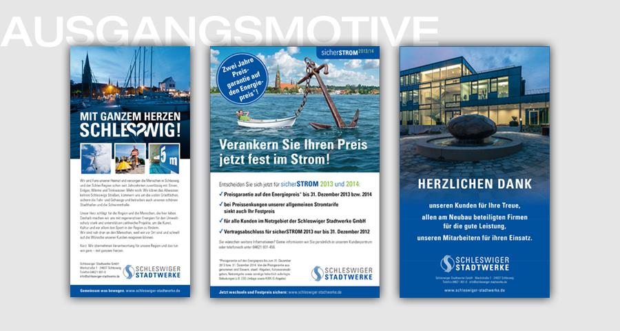 Schleswiger Stadtwerke_Anzeigenmotive